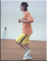 Get fit to play squash